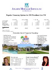 Pamela Johnson's open house flier template created using Microsoft Excel